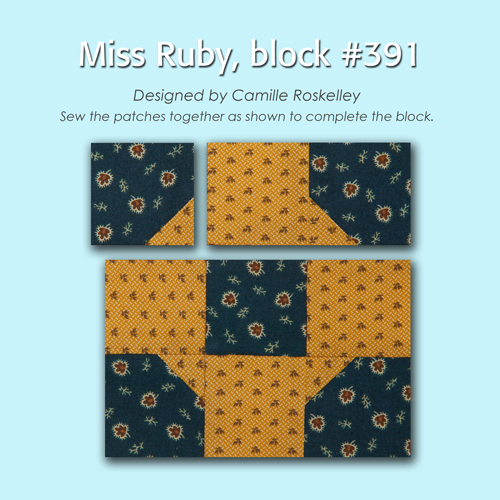 391 3 100 Blocks Sampler Sew Along   Block 35