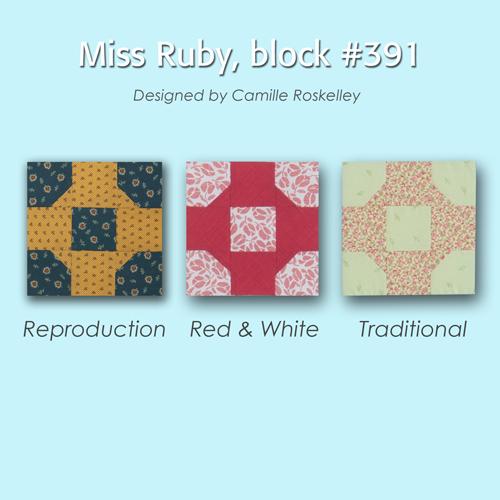 391 4 100 Blocks Sampler Sew Along   Block 35