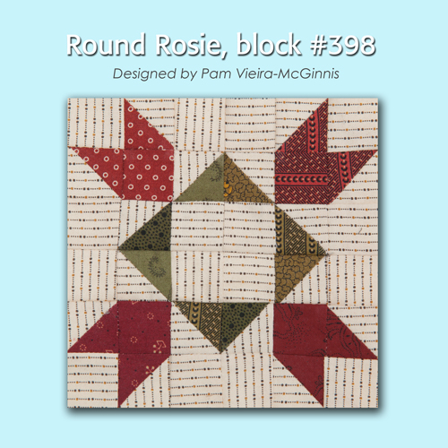 398 1 100 Blocks Sampler Sew Along   Block 43