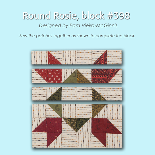 398 3 100 Blocks Sampler Sew Along   Block 43