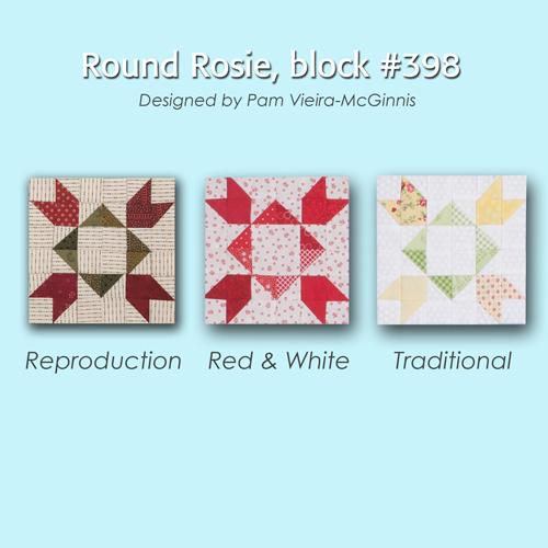 398 4 100 Blocks Sampler Sew Along   Block 43
