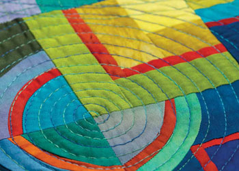 Machine Embroidery Patterns: Quilting in Circles: An Innovative Technique to Stitch Perfect Spiraling Circles