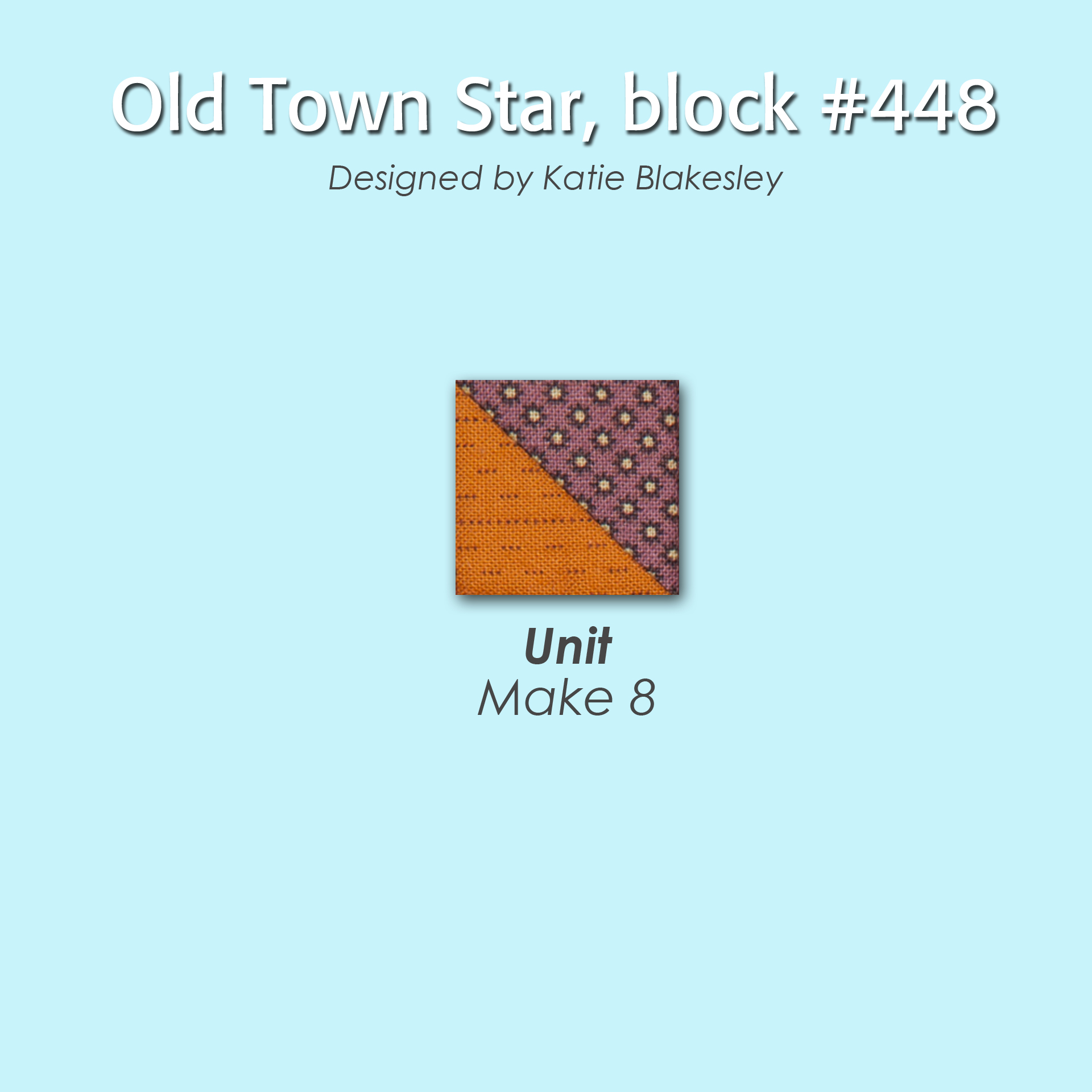 448 2 100 Blocks Sampler Sew Along   Block 6
