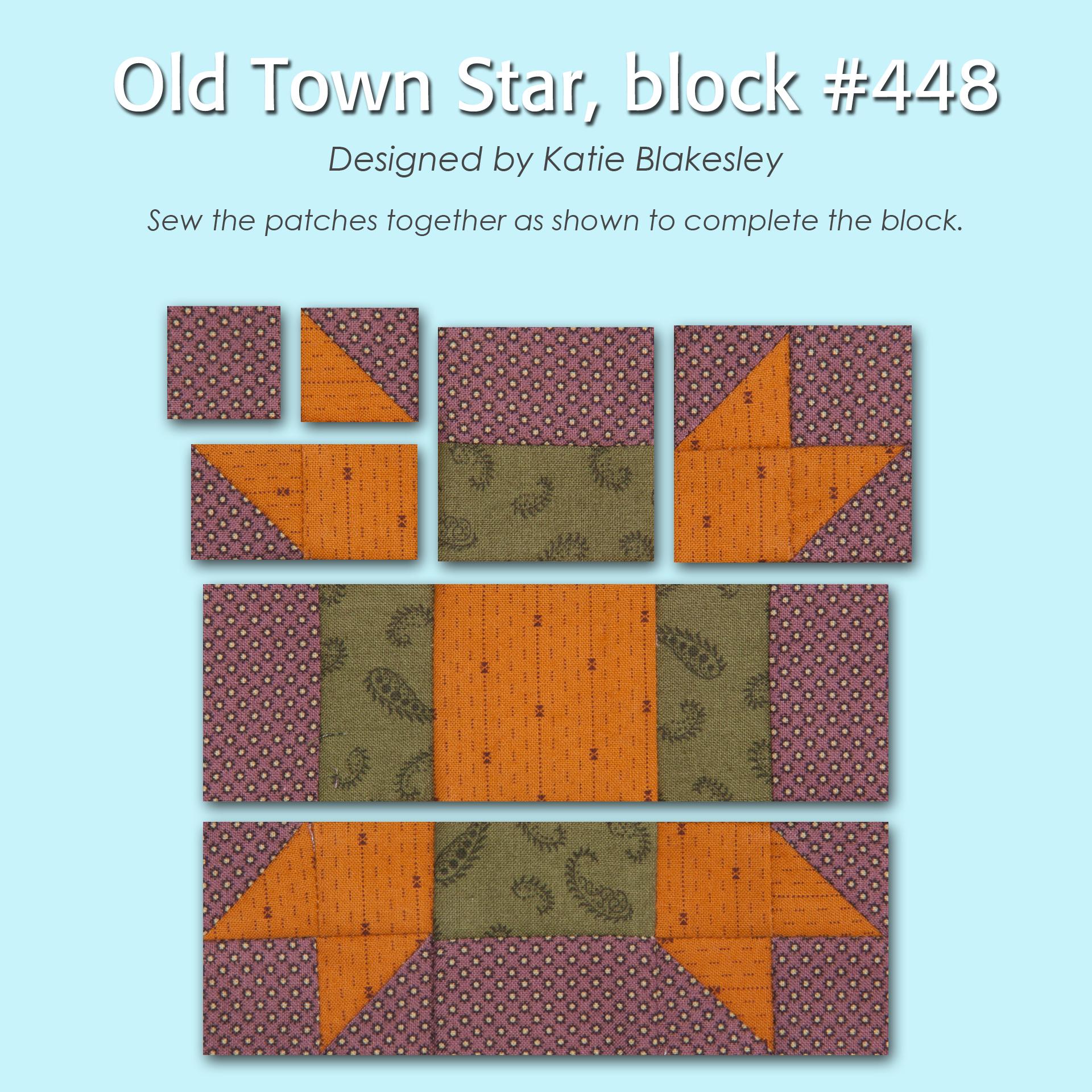 448 3 100 Blocks Sampler Sew Along   Block 6