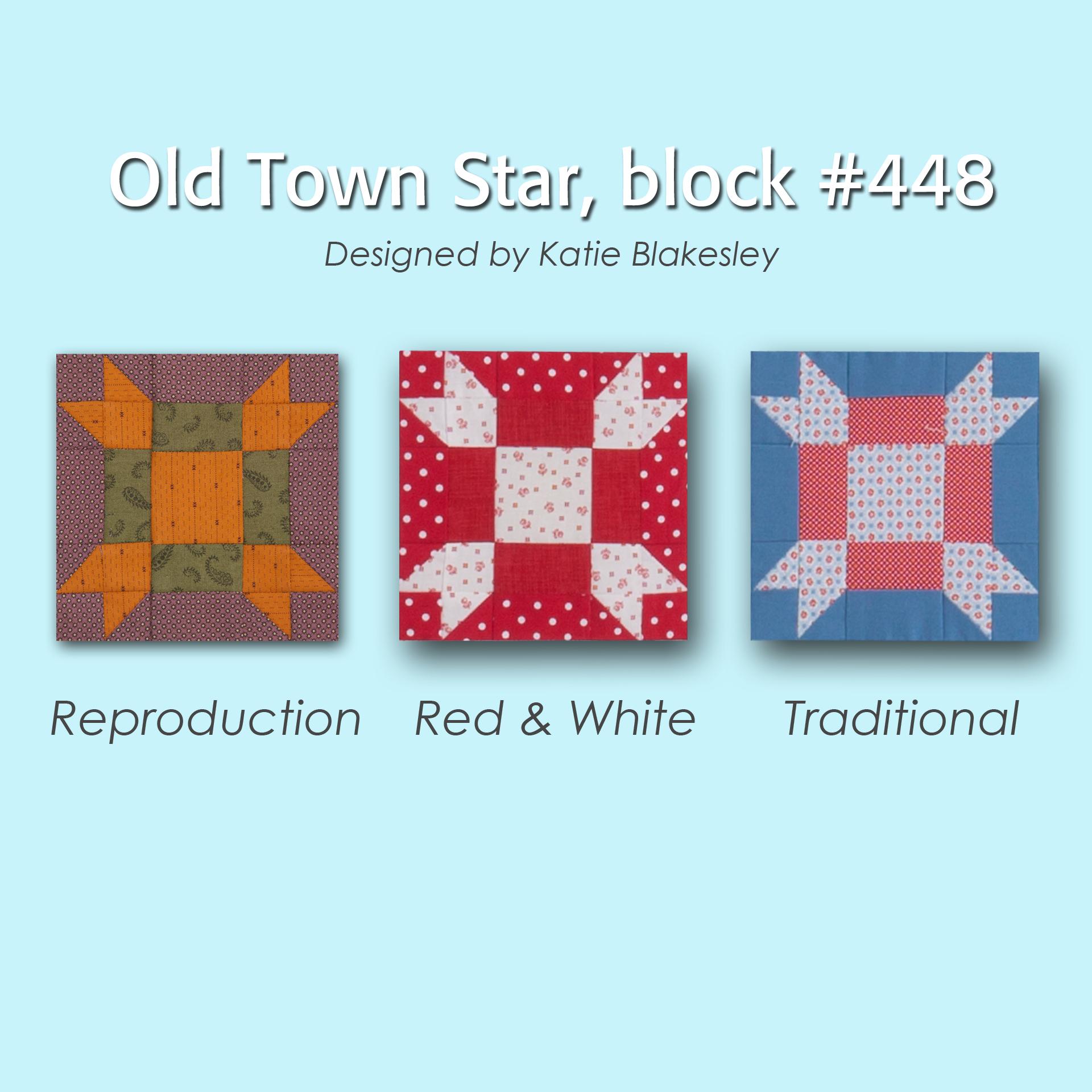 448 4 100 Blocks Sampler Sew Along   Block 6