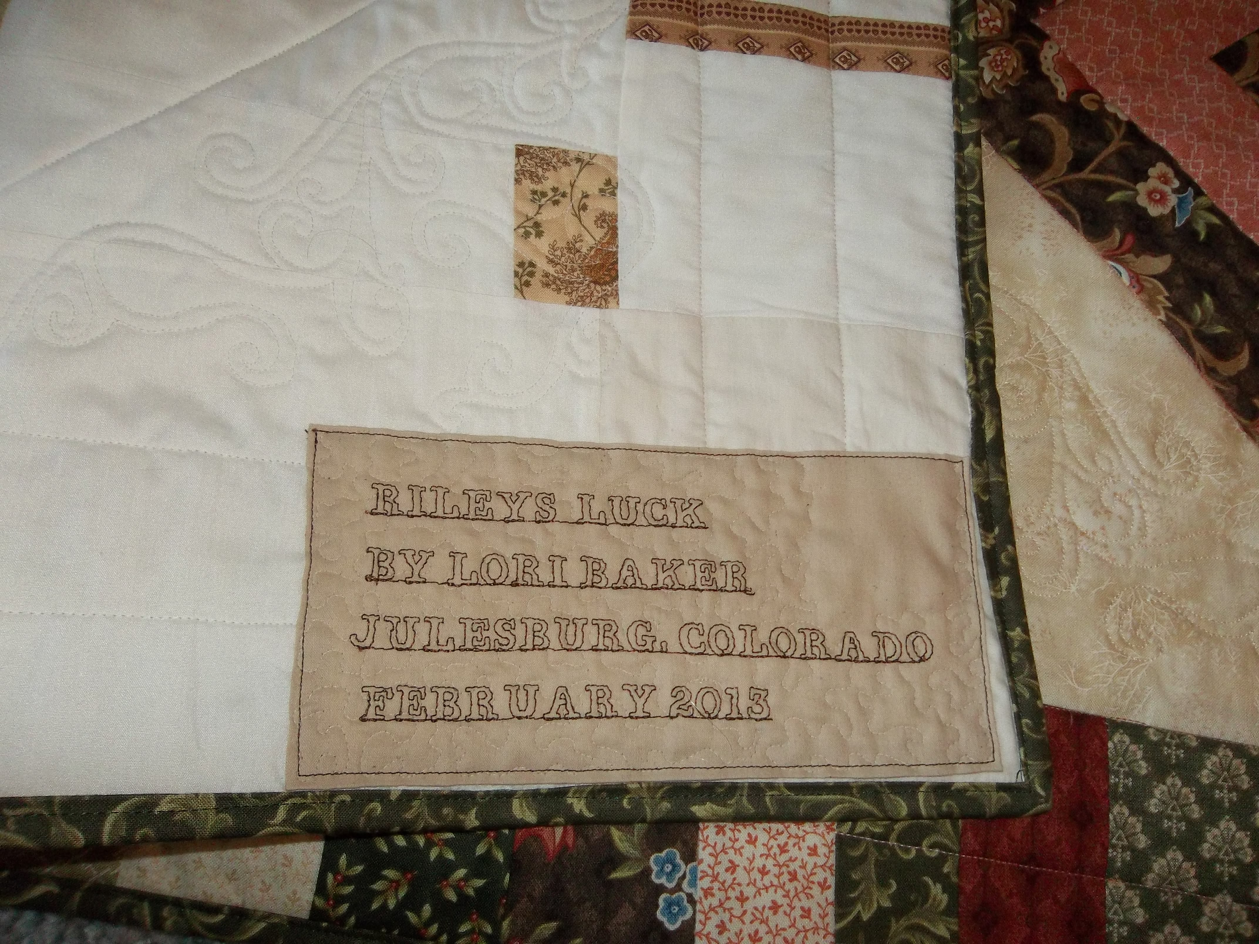 Labels and a Graduation Quilt, Too | Inside Quilters Newsletter ... : graduation quilt ideas - Adamdwight.com