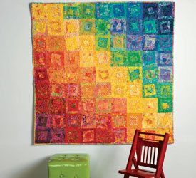 5 Free Quilted Wall Hanging Patterns - The Quilting Company : hang a quilt on the wall - Adamdwight.com