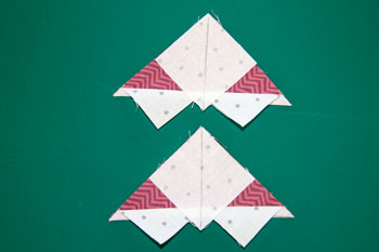 5 QM Bitty Blocks: Flying Geese Pinwheels