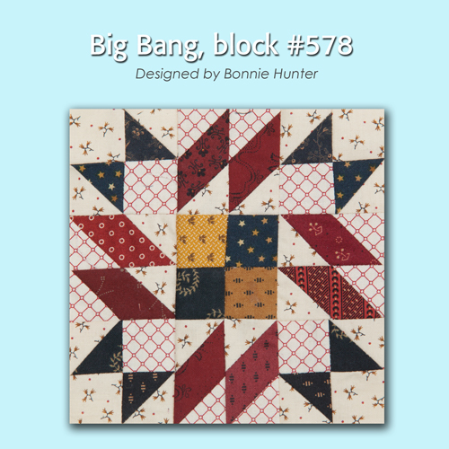 578 1 100 Blocks Sampler Sew Along   Block 33