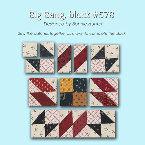 578 3 100 Blocks Sampler Sew Along   Block 33