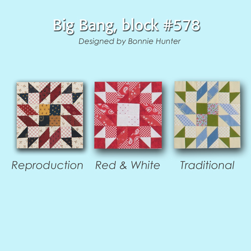 578 4 100 Blocks Sampler Sew Along   Block 33