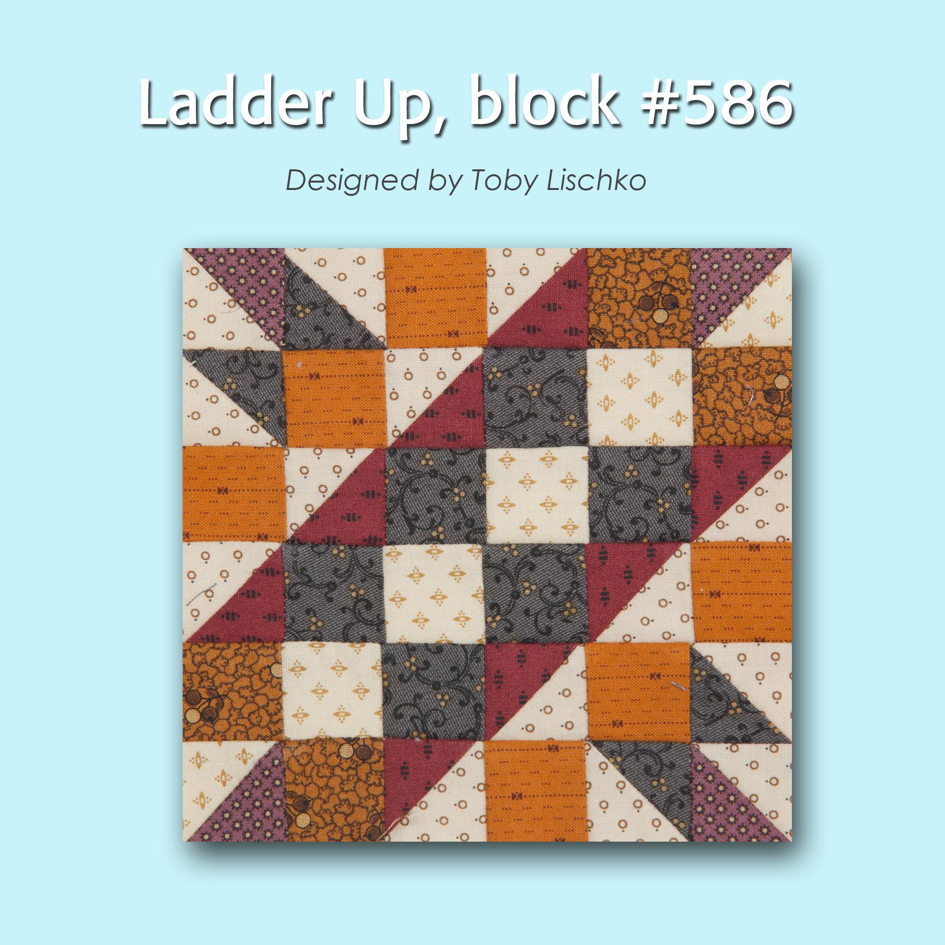 586 1 100 Blocks Sampler Sew Along   Block 5