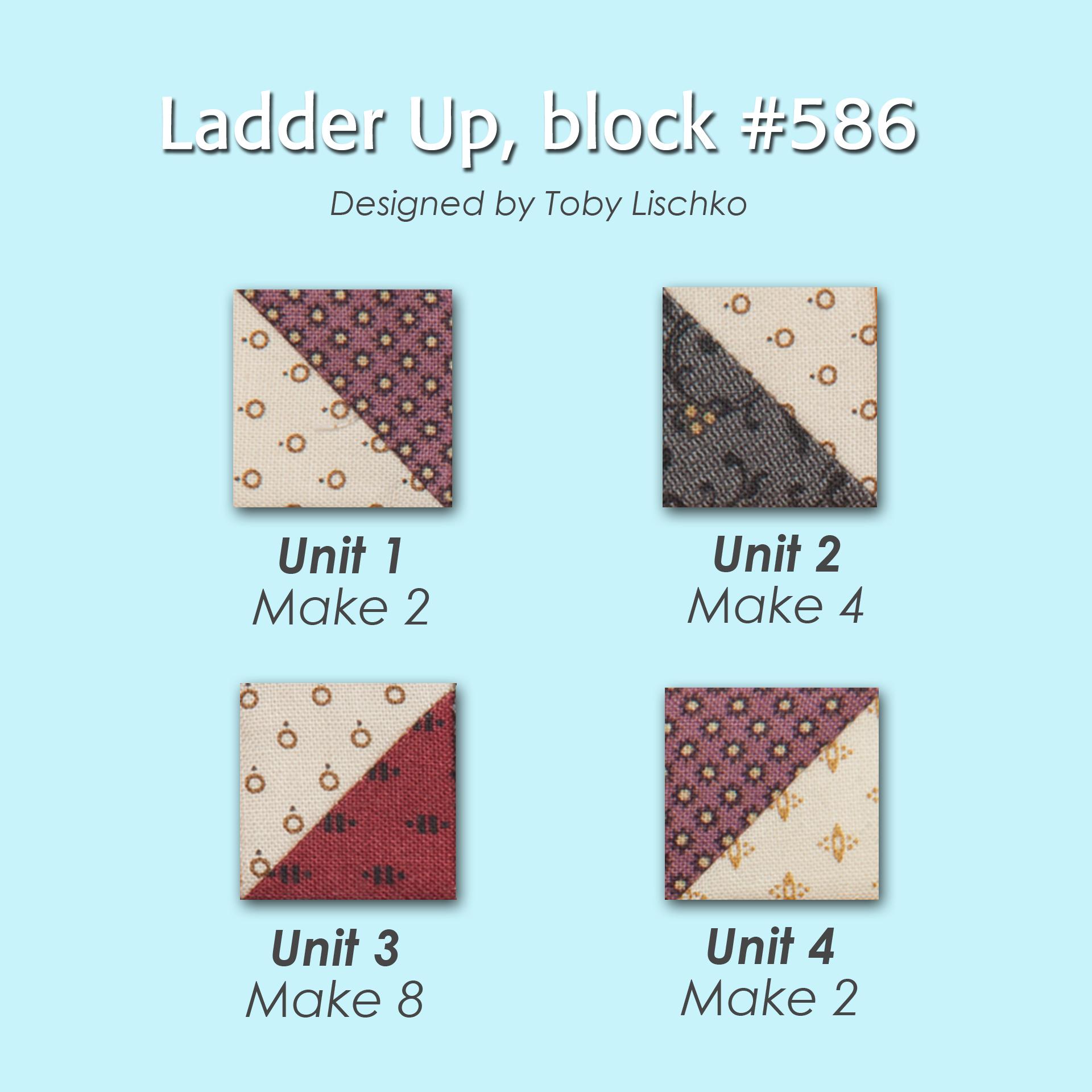 586 2 100 Blocks Sampler Sew Along   Block 5