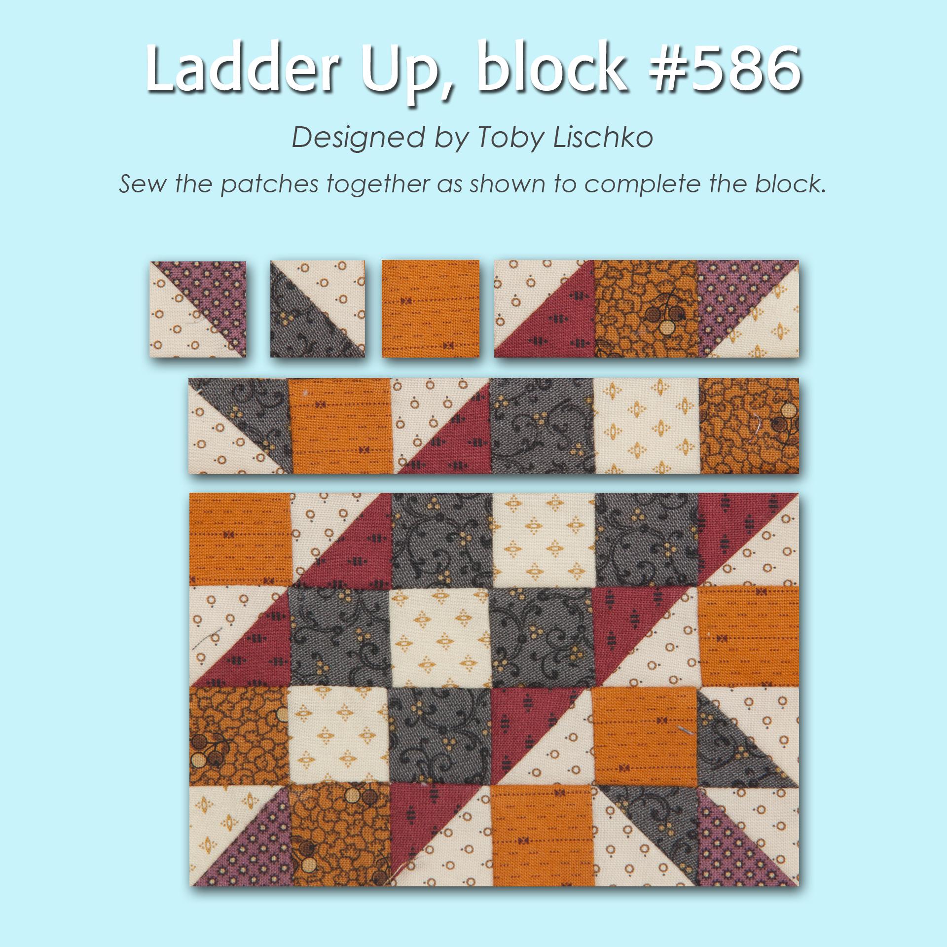 586 3 100 Blocks Sampler Sew Along   Block 5