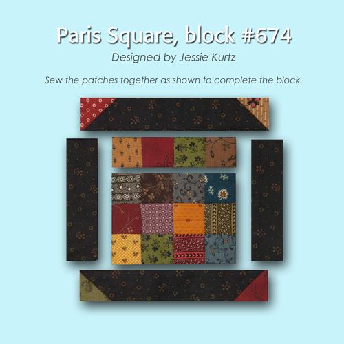 674 3 100 Blocks Sampler Sew Along   Block 48 + Giveaway!