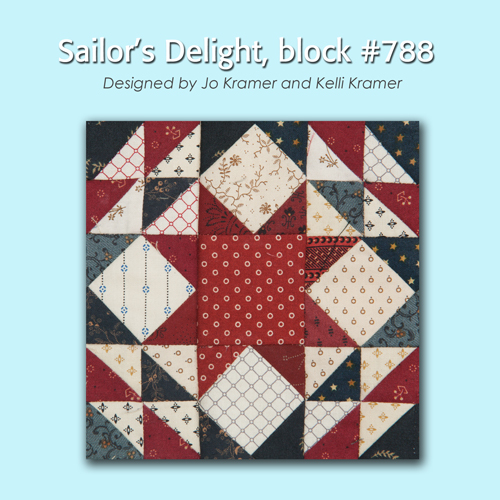 788 1 100 Blocks Sampler Sew Along   Block #25