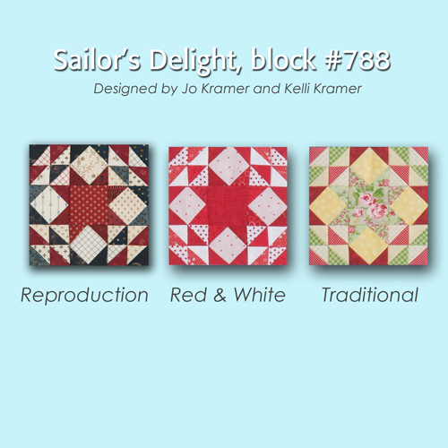 788 4 100 Blocks Sampler Sew Along   Block #25