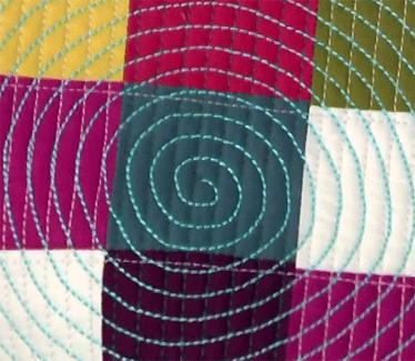 Learn Machine Quilting Designs: How to Stitch a Spiral - Quilting ... : spiral quilts - Adamdwight.com
