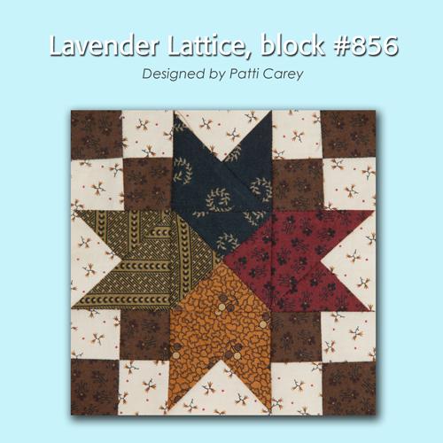 856 1 100 Blocks Sampler Sew Along   Block 37