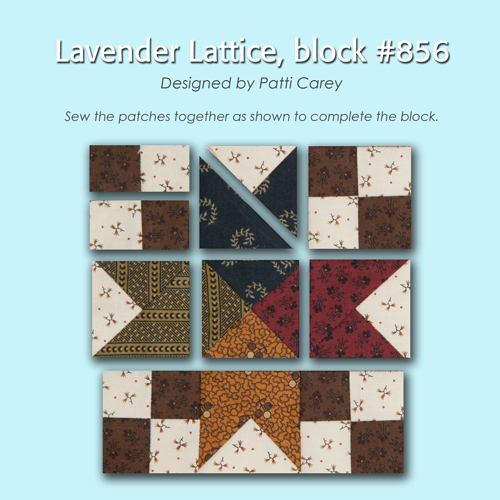 856 2 100 Blocks Sampler Sew Along   Block 37