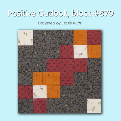 879 1 100 Blocks Sampler Sew Along   Block 40