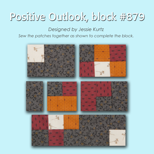 879 2 100 Blocks Sampler Sew Along   Block 40
