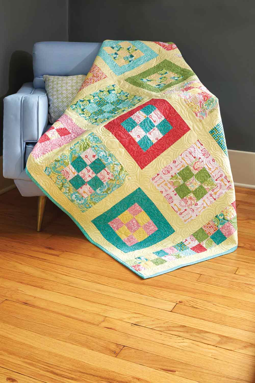 Throw Quilt Patterns Archives - The Quilting Company