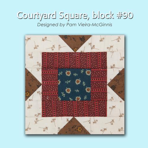 90 1 100 Blocks Sampler Sew Along   Block 28