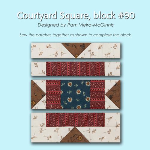 90 3 100 Blocks Sampler Sew Along   Block 28