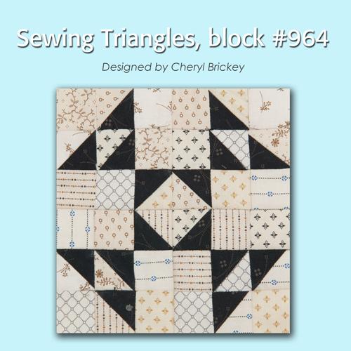 964 1 Quiltmakers 100 Blocks Sampler Sew Along   Block 27