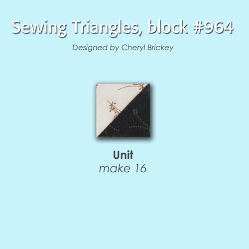964 2 Quiltmakers 100 Blocks Sampler Sew Along   Block 27
