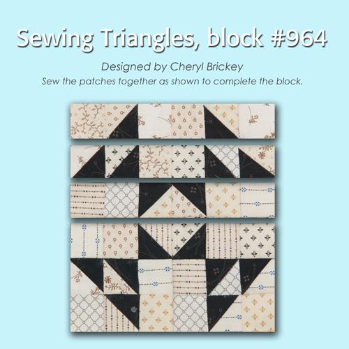964 3 Quiltmakers 100 Blocks Sampler Sew Along   Block 27