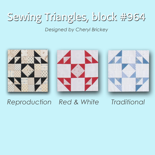 964 4 Quiltmakers 100 Blocks Sampler Sew Along   Block 27