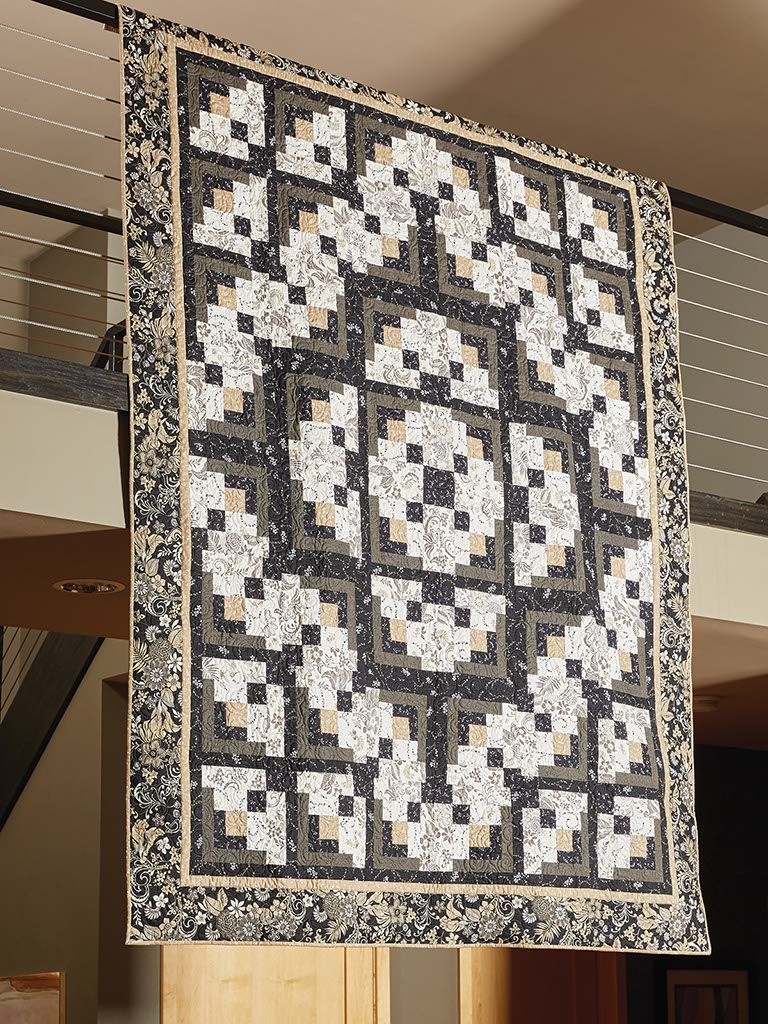 A Formal Affair A Black And White Quilt Pattern The