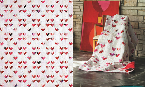 A Game of Hearts Quilt