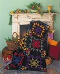 Almost Amish Star Blossoms FREE Amish Quilt Pattern