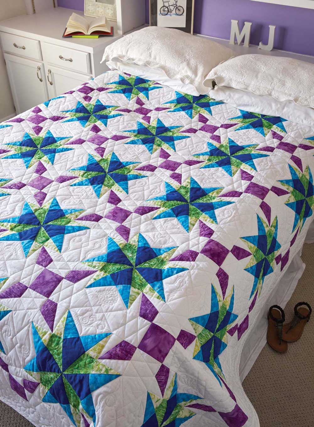 Anna's Starflake Quilt