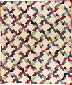 Drunkards Path Free Quilt Pattern