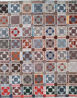 Square-in-Diamond Quilt