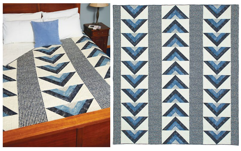 Easy Quilt Patterns - Easy to Make, Easy to Love - Fons & Porter ... : masculine quilt designs - Adamdwight.com