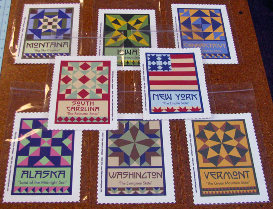 Assorted State Bolcks State Quilt Blocks