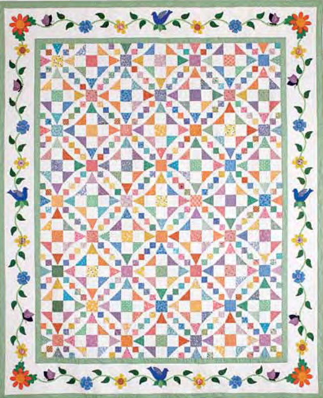 FREE Quilt Pattern Friday! *Aunt Gracie's Garden* - The Quilting ... : free quilting - Adamdwight.com