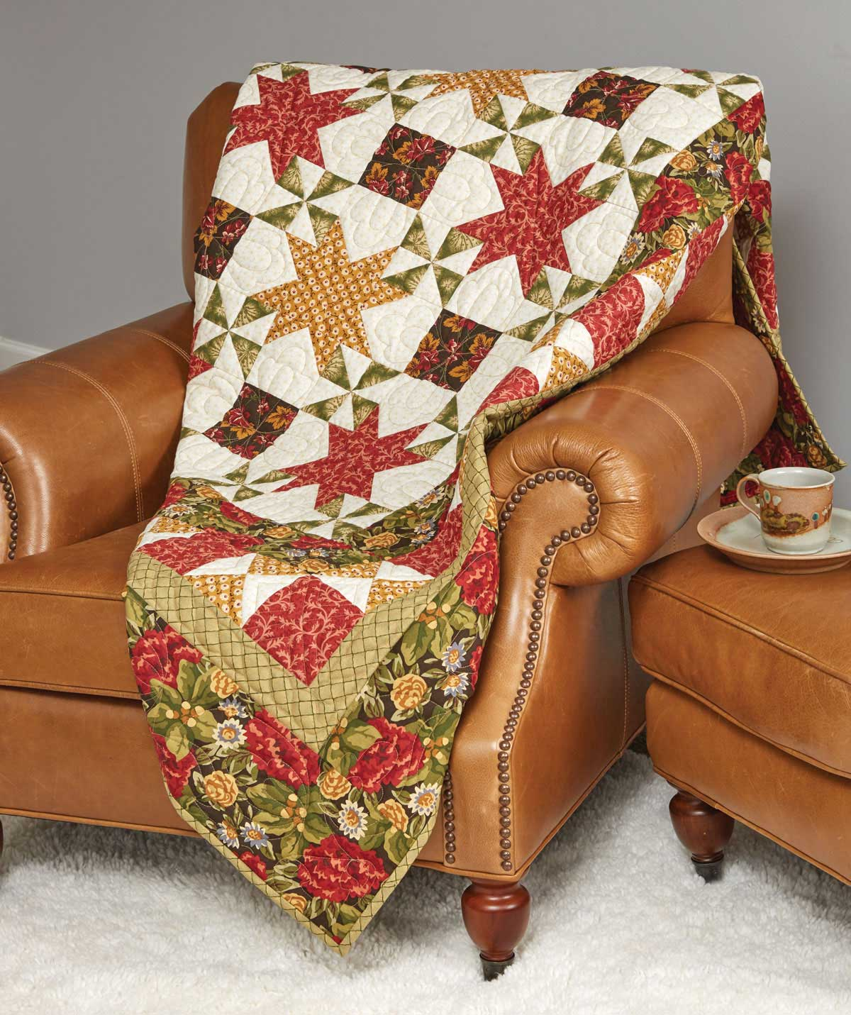 Autumn Star Shine Quilt Fons Amp Porter The Quilting Company