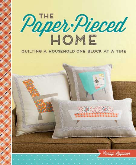 BOOK COVER 450 The Paper Pieced Home Blog Hop
