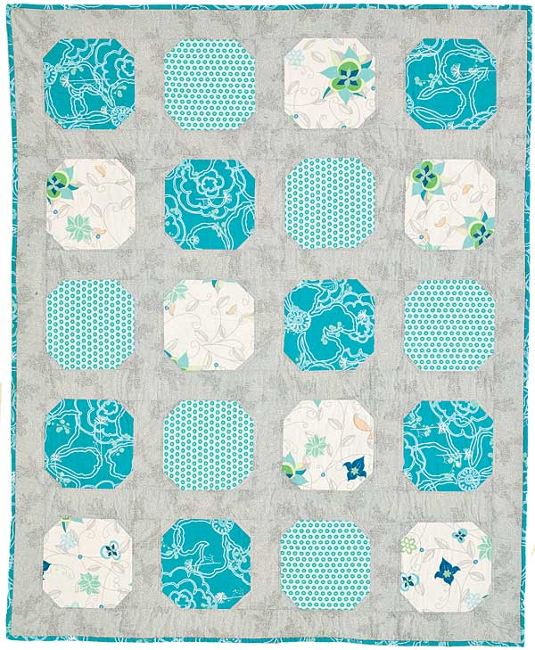 Rosy Lullaby: FREE Sweet & Simple Floral Twin Quilt Pattern - The ... : beginner baby quilt patterns free - Adamdwight.com