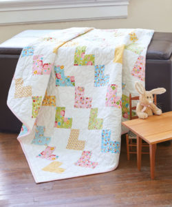free quilt pattern Sweethearts Baby Quilt