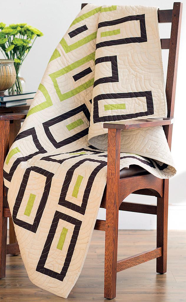 Bamboo Shoots Quilt Pattern