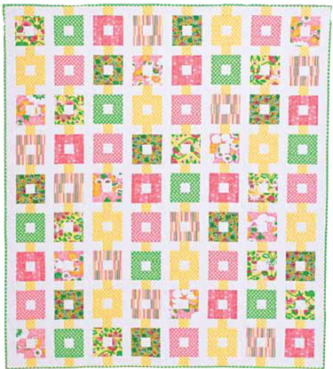 BaublesFLAT375px Friday Free Quilt Pattern: Baubles And Beads