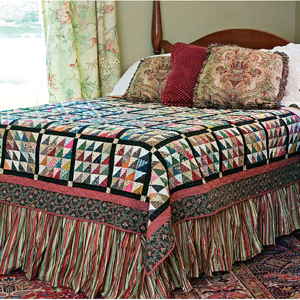 Suggested Quilt Sizes for All Bed Types