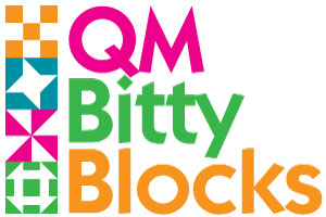 BittyBlockLogo 300px1 The Bitty Blocks of 2015: Free Quilt Block Patterns